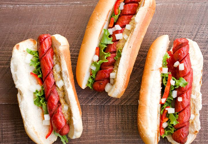 How to Make Spiral Hot Dogs: You are one quick tip away from completely changing your grilling game this year. This fast prep takes your average hot dog to a whole new level. They get crispy and perfect for lazy day grilling. Learn how to do it right!   macheesmo.com
