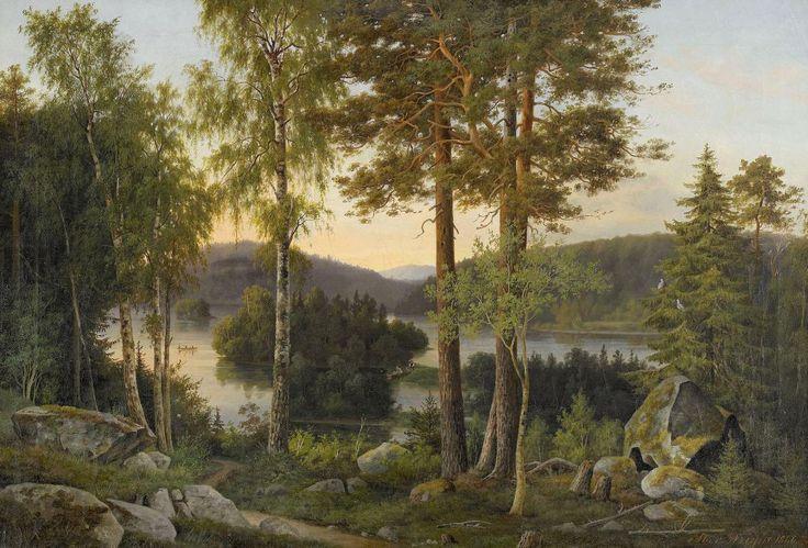 Magnus von Wright (Finnish , 1805 – 1868)