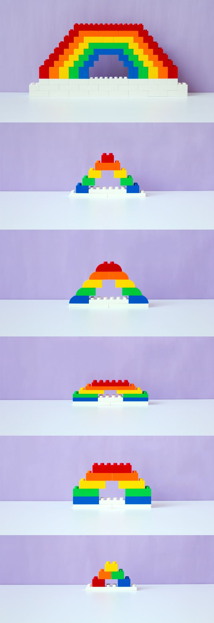 A fun LEGO® DUPLO® game you can play with your young child over and over again, is the color sorting game.