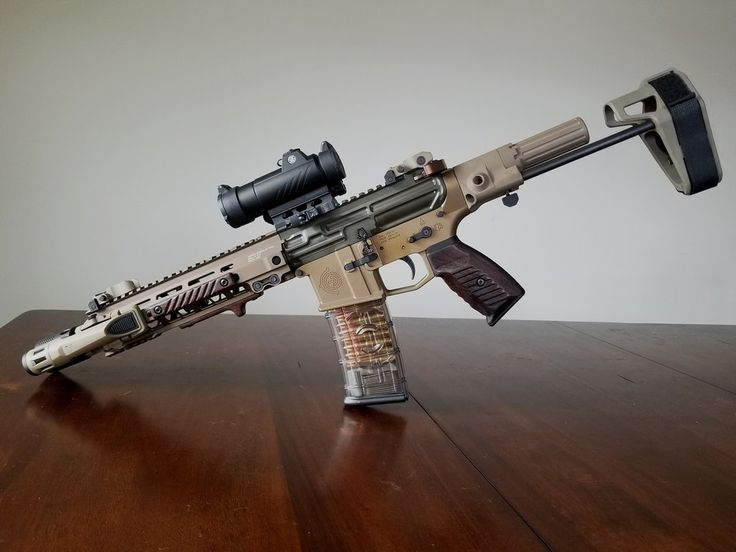 Wood 300 Blackout Pistol Build Completed Ar 15 Builds Pinterest
