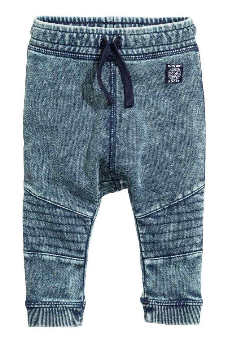 Joggers en tejido lavado | H&M