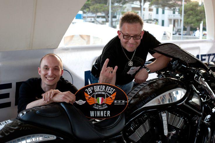 I place in Bagger class at Italian Motorcycles Championship 2015, Lignano Sabbiadoro Italy –  Nimrod
