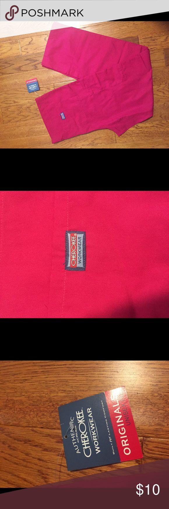 NWT Cherokee pink work wear scrubs Pants Tall M Brand new with tags  Pink scrubs Cherokee brand Tall medium size Cherokee Pants