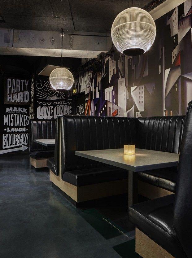 Luxo e design em hostel parisiense