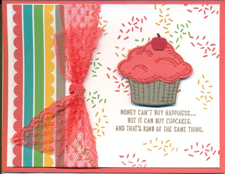 Sprinkles of Life, Cherry on Top, Watermelon ribbon. Cased Heather Heroldt's idea
