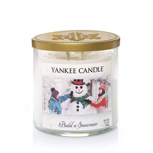 Winter Wonderland© Collection (Build a Snowman©) : Medium 2-Wick Tumbler Candles : Yankee Candle