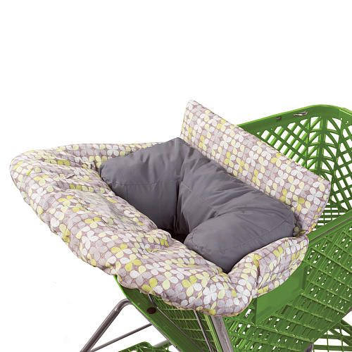 Summer Infant Cushy Shopping Cart Cover with Infant Positioner