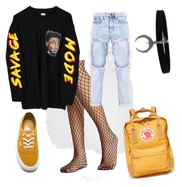 """#8"" by matilda-key on Polyvore featuring Free People, Vans and Fjällräven"