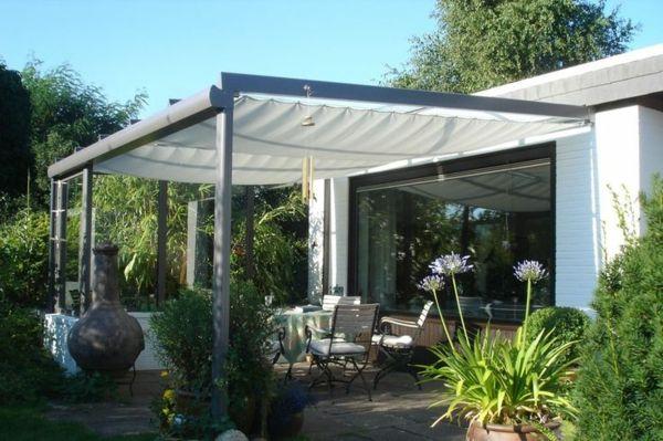Überdachte terrasse - 50 top-ideen für terrassenüberdachung,