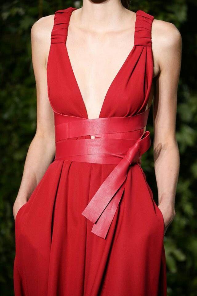 Balmain fashion FORWARD modern redhot twist