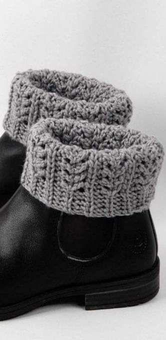 Knitting Easy Patterns Boot Cuffs 48+ Best Ideas | Crochet ...