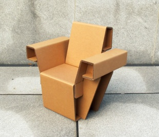 chairigami cardboard furniture