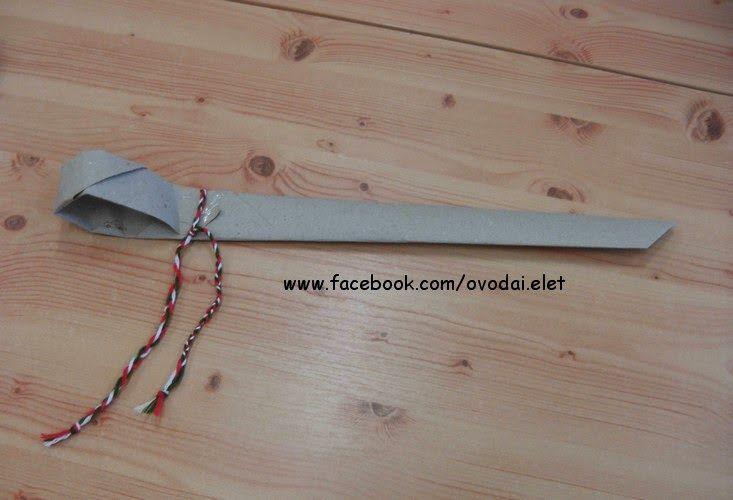 Óvodai Élet: Papír kard