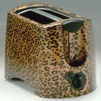Leopard Print Toaster
