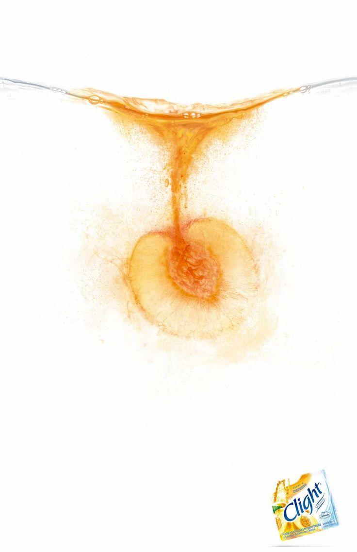 究極のシンプルさで描く、粉末ジュースのシズル感たっぷりな広告 | AdGang