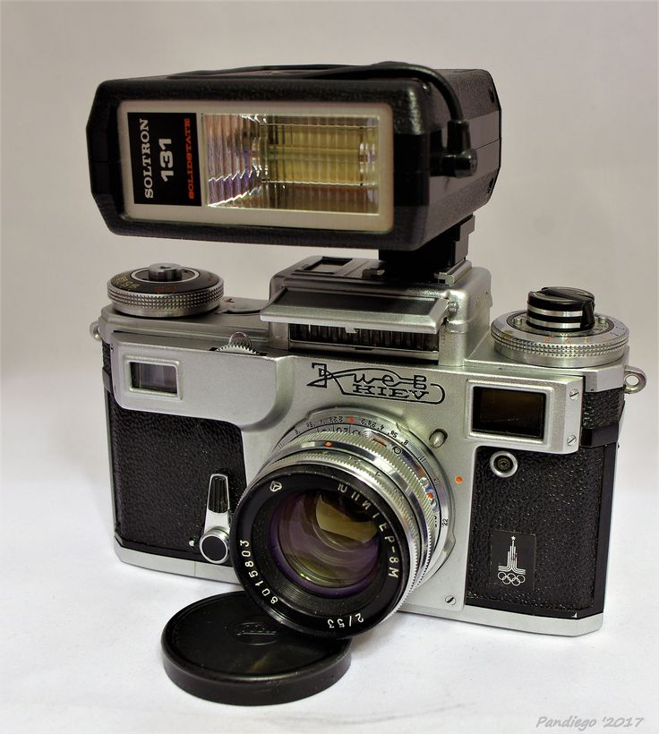 Kiev 4M Olympic - Made by Arsenal (1979-1980) - 35mm rangefinder camera (clone Contax)
