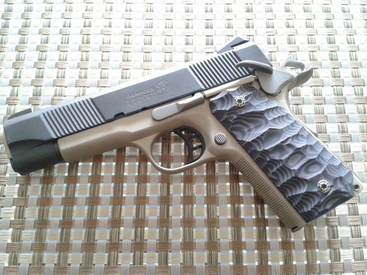 post your custom 1911 grip pictures... - 1911Forum