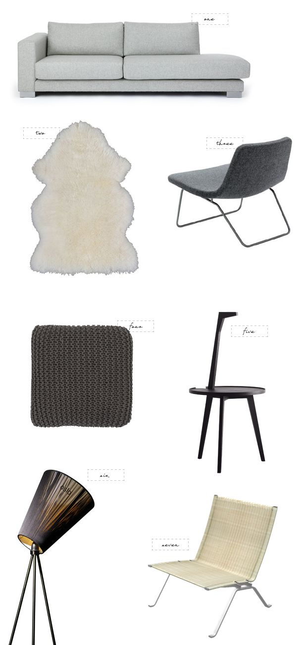 From my living room greenpoint works acapulco chair in leather meets - Modern Scandinavian Home 79 Ideas
