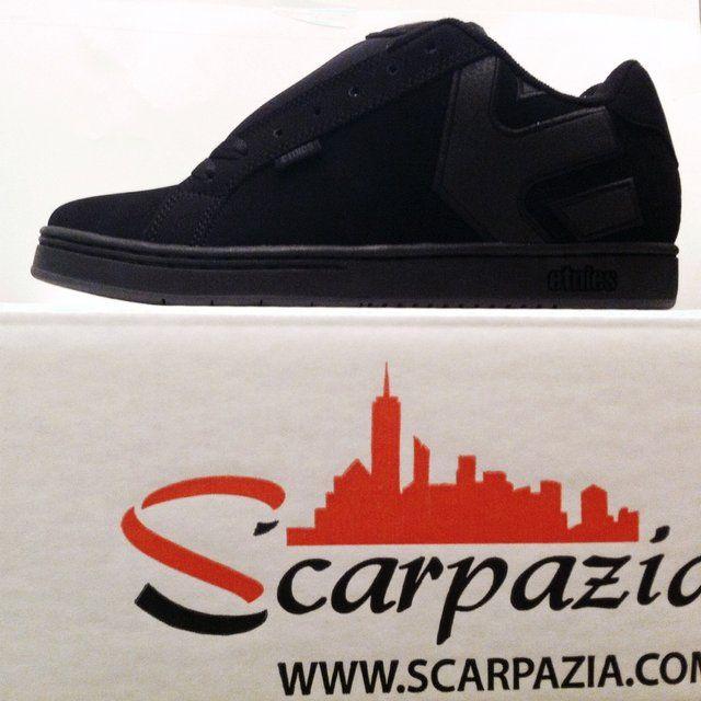 By @scarpazia http://www.scarpazia.com  Scarpe Etnies Fader Black Dirty Wash