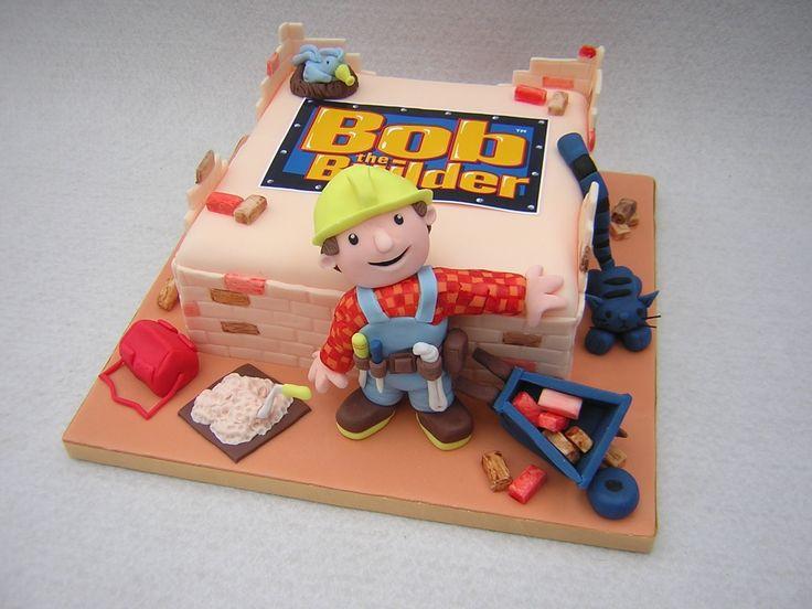A Bob the Builder Birthday Party Theme - Cake Idea