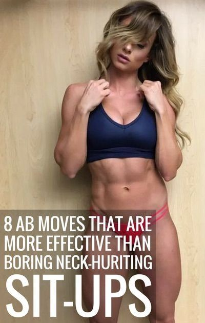 8 Ab Exercises That Are More Effective Than Sit-Ups