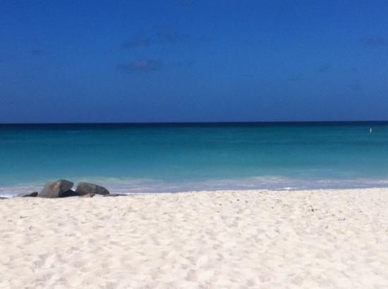 Aruba Beach Club: Beautiful calm and blue water.