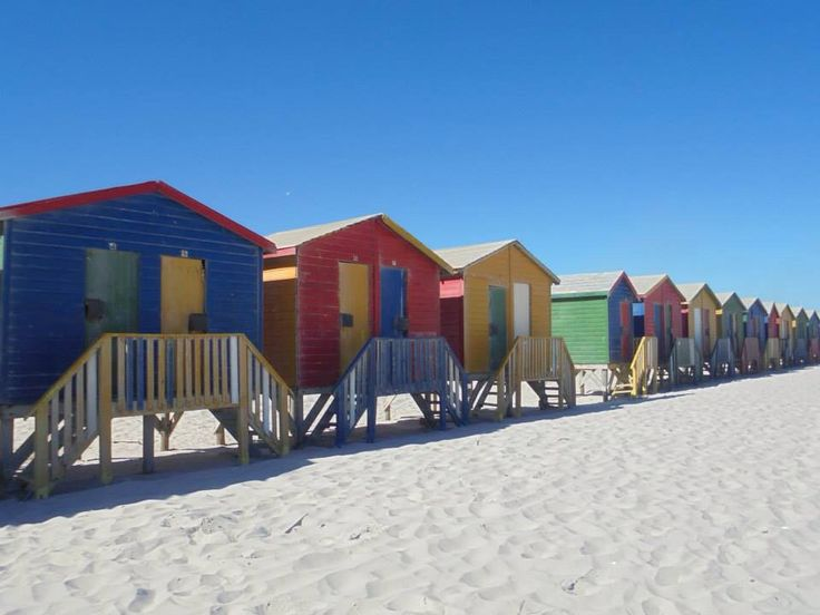 Coloured houses | Muizenberg | Cape Town