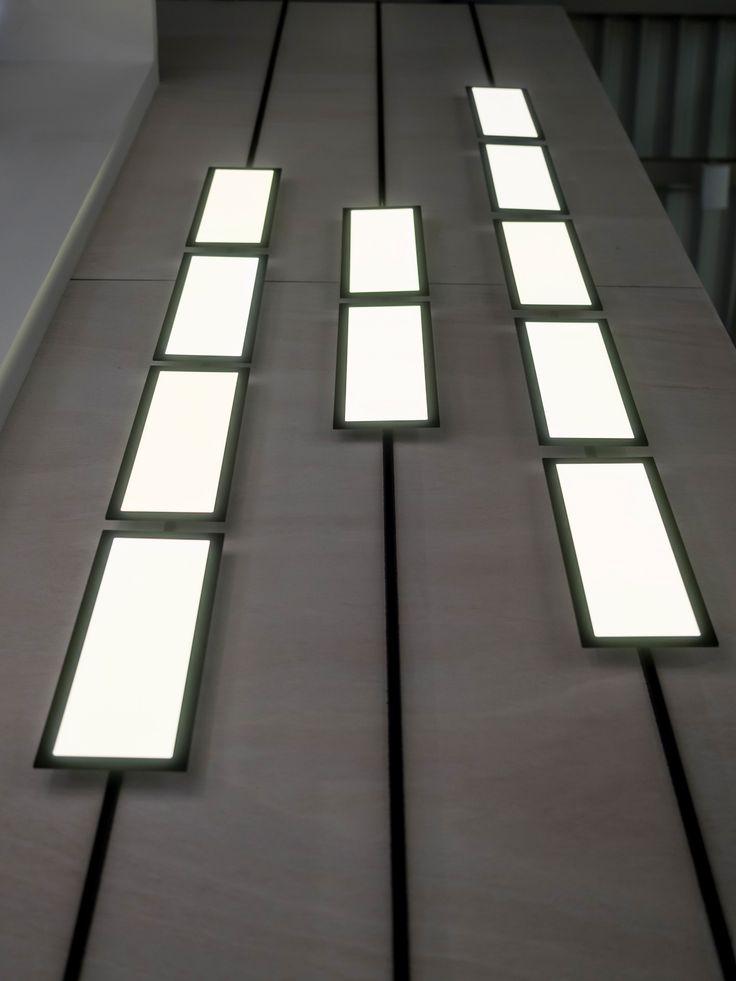 New  Light uBuilding die weltweit erste OLED Leuchte OLED Format cm cm f r ein Standard Niedervolt System buschfeld bringt so das Licht von