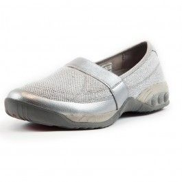 Women's foot support Slip OnMesh Sparkle Casual Shoe approved by the American Podiatric Medical Association. Providing superior Arch Support, a deep heel cup and personalized heel support. Style, comfort & function casual shoe. Free Shipping & exchange