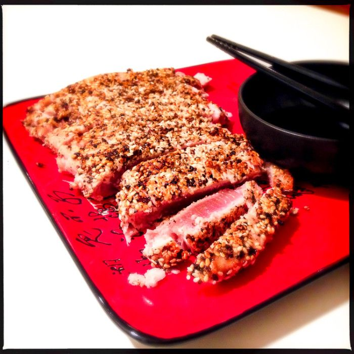 If you love seared tuna, try this Japanese-style version (tuna tataki) from Bill Granger for something a bit different.