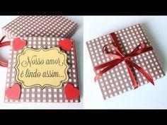 DIY: Mini Álbum Scrapbook | Namorada Criativa - Por Chaiene Morais