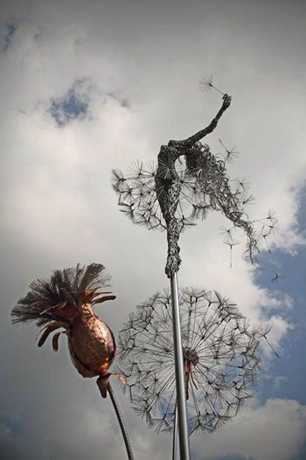 esculturas hadas alambre (9)