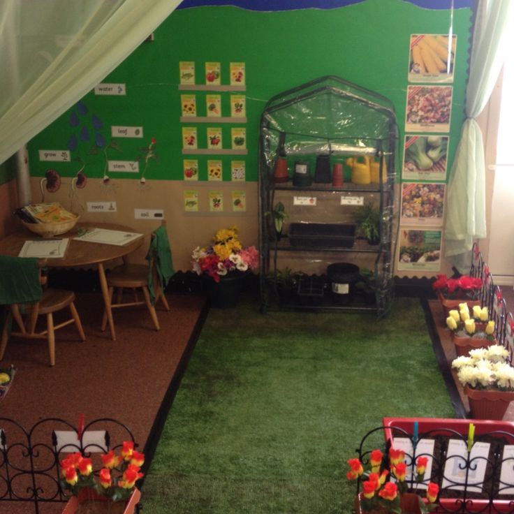 Garden centre role play area