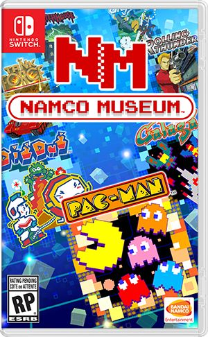 Could Namco Museum see a retail release on Switch?   According to Nintendo's Nintendo Direct Namco Museum is coming to the Switch eShop. No mention of a retail version was made. This makes things confusing when you go over to the listing for the game on Nintendo.com which includes the boxart you see above. Boxart for a digital-only title? Seems like something is up here.  It's also worth noting that the official press release for the game doesn't state anything about eShop or retail either…