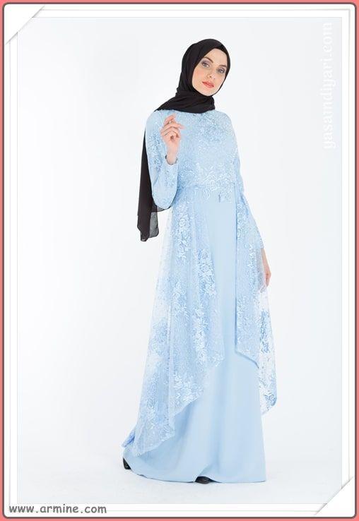 7c6d493155103 Armine 2019 tesettürlü abiye elbise modelleri tükenmeden sizde yeni  abiyeler arasından seçiminizi yapın. #tesettür #tesettürgiyim #abiye  #elbise ...