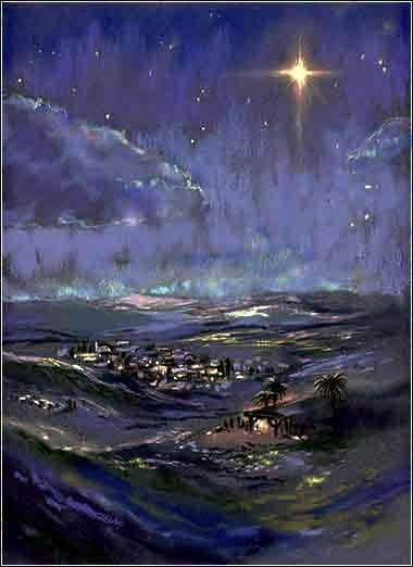 Star of Bethlehem painting-guess what!! My dad has found out that today ( tuesday night, june 30 is the first time ever that the Star of Bethlehem has shone  since a little over 2000 years ago when jesus was born!!!!! Is that awesome??  Tou have the chance to see it! Plz respond and plz let other ppl know :D