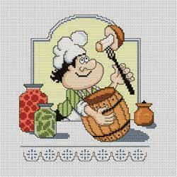 Gallery.ru / Шев - повар - Серия Кулинарный техникум - natalytretyak