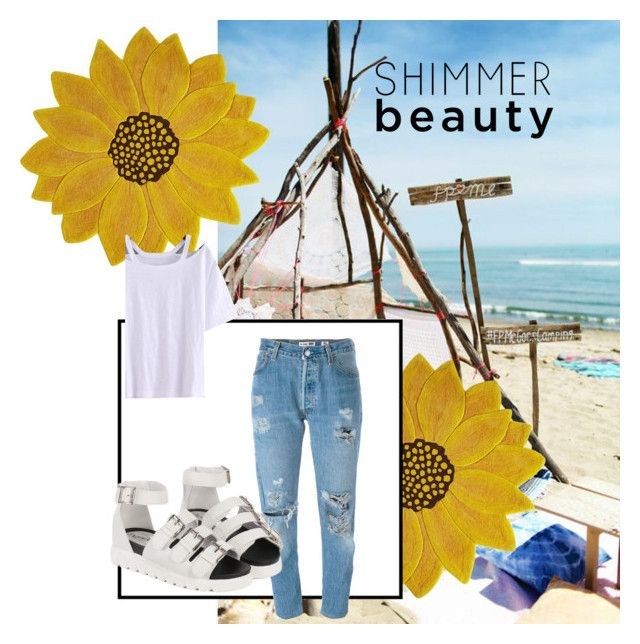 """""""Untitled #50"""" by amberekkel on Polyvore featuring Pier 1 Imports and Levi's"""