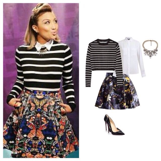 Recreate Jeannie Mai's look from The Real