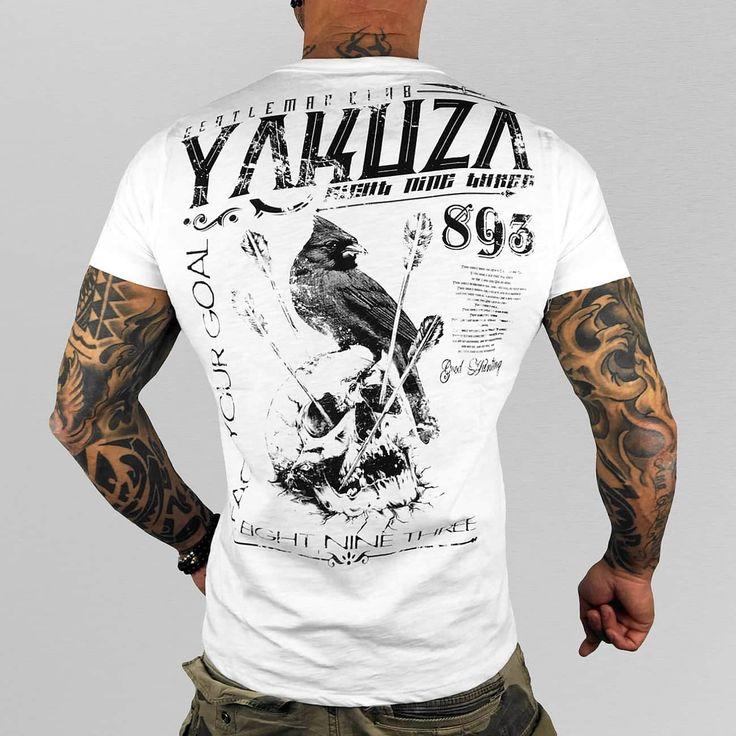 Yakuza Overwear / T-Shirt Gentleman Club in white 297848