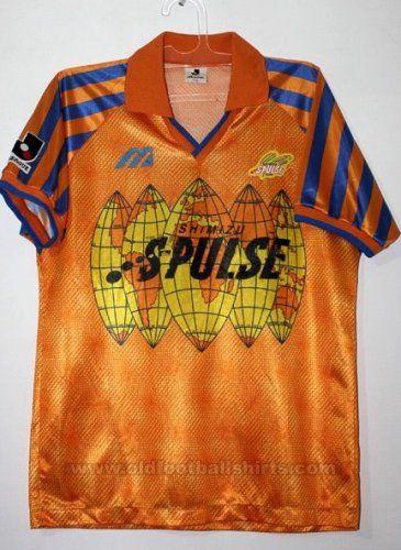 Shimizu S-Pulse Casa camisa de futebol 1992 - 1993