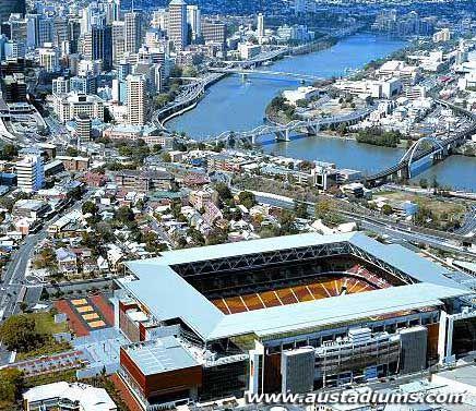 Suncorp Stadium (Lang Park)   Brisbane