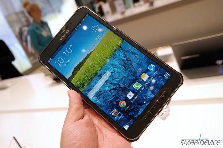 [IFA 2014] 러기드 태블릿의 새 장을 여는 갤럭시 탭 액티브 - 필진 '늑돌이' (@Sontle)  http://smartdevice.kr/1289  #스마트디바이스 #SmartDevice #IFA2014 #갤럭시탭_액티브