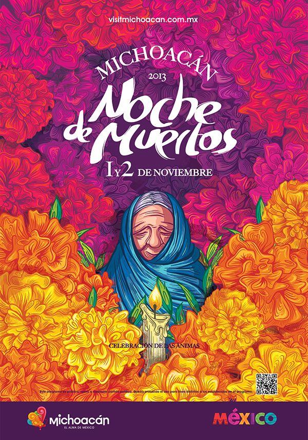 Noche de Muertos / Edición 2013 on Behance