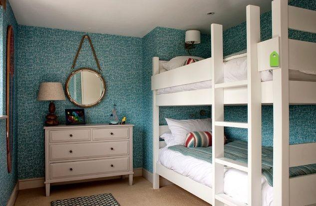 Vintage-Retro boys bedroom