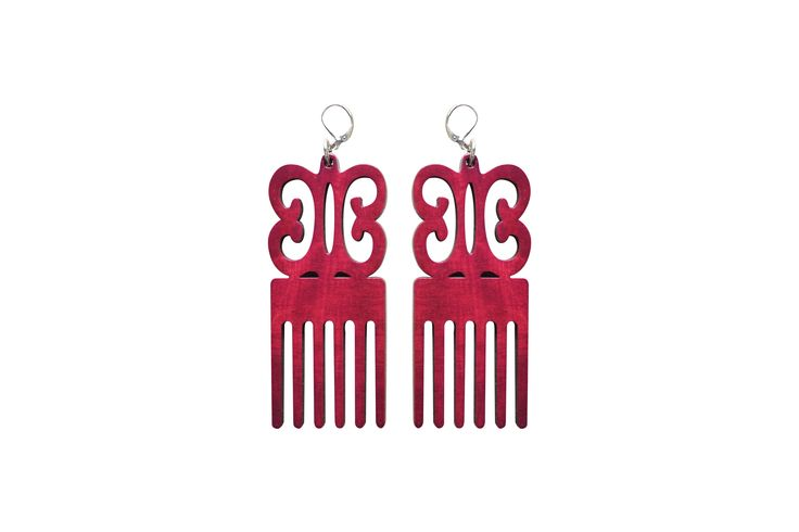 Photo of Seiwa Akoto earrings. Check out their funky collection @ http://seiwaakoto.com