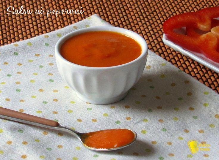 Salsa ai peperoni per pasta, crostini e polpette varie ricetta il chicco di mais