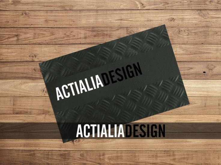 Impresión de Tarjetas Comerciales en Relieve Gofrado. Diseño gráfico opcional. Precios imprenta online en www.actialia.com