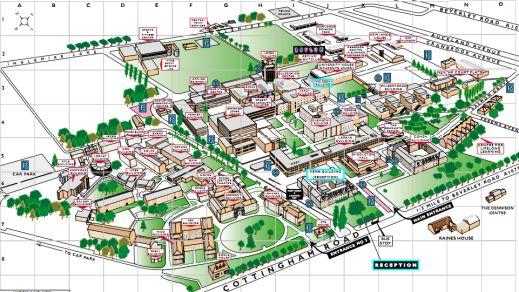 Hull University Map Hull University Campus Map | Fresher's guide to Hull | Hull