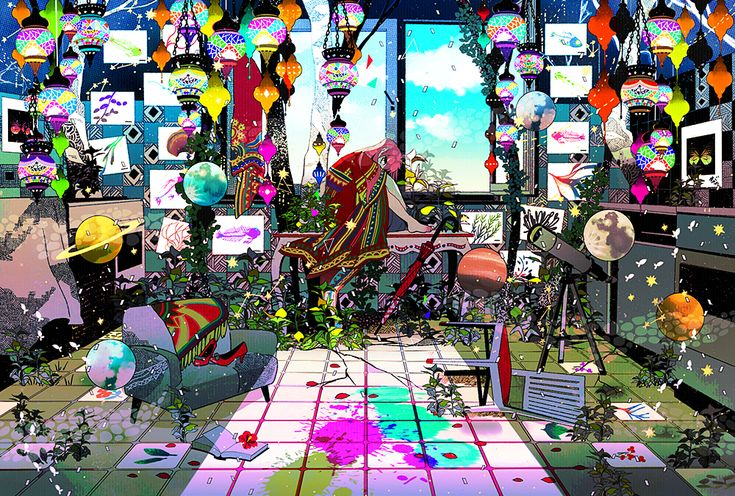 真夏の夜は夢 by まがた   CREATORS BANK http://creatorsbank.com/cackypa/works/289047